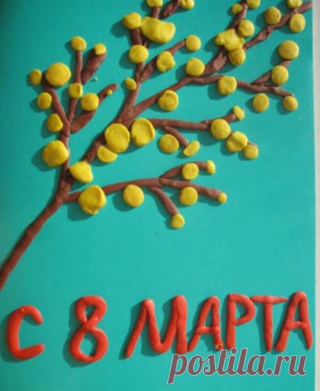 Поделки на 8 марта своими руками - подборка мастер-классов для детей (70 фото)