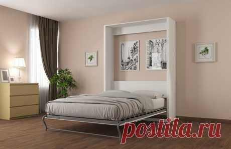 Шкаф кровать вертикальная двуспальная 1400х2000
