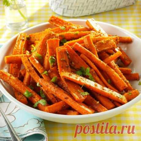 👌 Пряная морковь в духовке - универсальный и вкусный гарнир, рецепты с фото Морковь — это не просто вкусный овощ, а ещё источник витаминов и микроэлементов, которые нужны организму в конце зимы. Поэтому мы предлагаем совместить полезное с приятным и пригот...