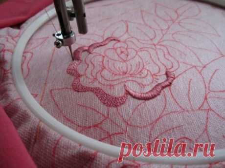 How to embroider on the sewing machine: a master class - https:\/\/okl.lt\/7PEid\u000d\u000aToday's master class for those who want to learn to embroider on the simple sewing machine.\u000d\u000a#мастеркласс