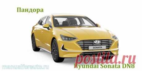 Точки подключения на Hyundai Sonata DN8