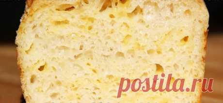 Простой в приготовлении сырный хлеб в духовке: без замеса и заморочек Очень вкусно!