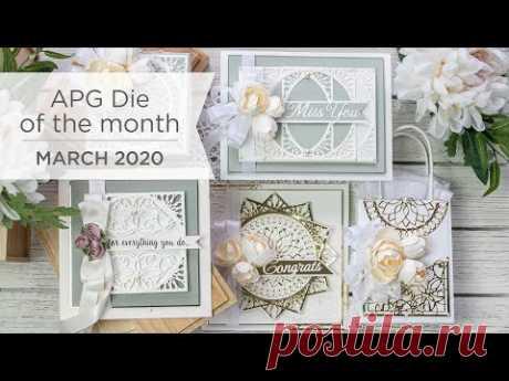 Spellbinders March 2020 Amazing Paper Grace Die of the Month – Elegant Infinity