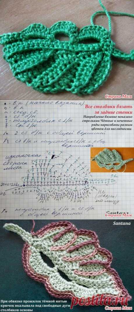 «вяжем крючком Листья, Кружево и Ирландия» — карточка пользователя Patrick M. в Яндекс.Коллекциях