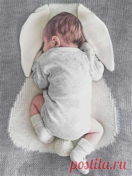 APERO knit&home / Плед ЗАЙКА