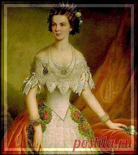 Императрица Австрии: Елизавета Баварская .