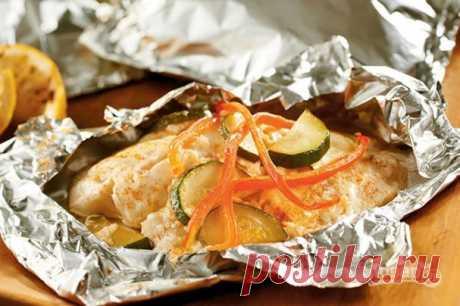 Белая рыба в духовке - пошаговый рецепт с фото на Повар.ру