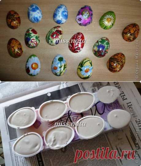 МК по созданию яиц- магнитов к Пасхе | Страна Мастеров