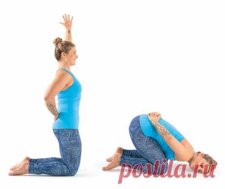 Большой комплекс от напряжения в плечах и шее
