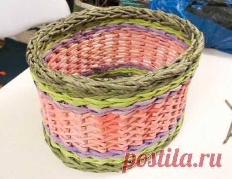Японское послойное плетение или зигзаг