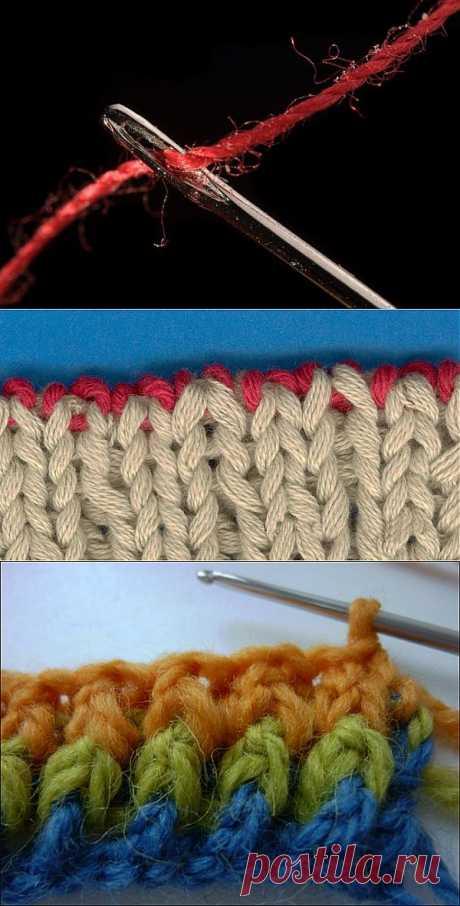 Как закончить вязание спицами? Приемы завершения изделия - Женский журнал LadySpecial.ru