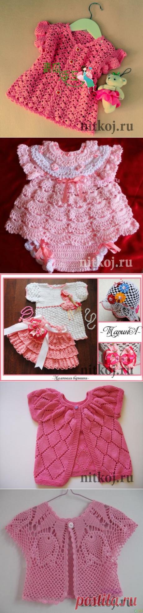 Летние детские кофточки » Ниткой - вязаные вещи для вашего дома, вязание крючком, вязание спицами, схемы вязания