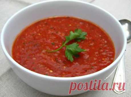 Суп из сладкого перца с капустой