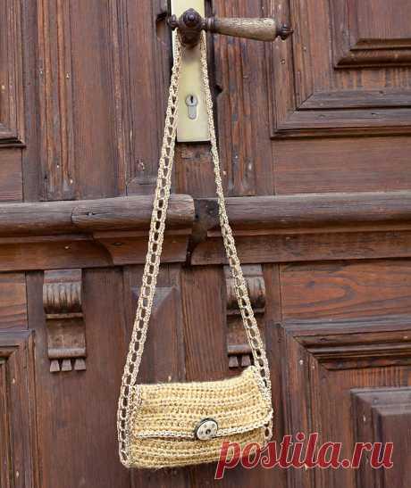 Сумка-кошелек - схема вязания крючком. Вяжем Сумки на Verena.ru