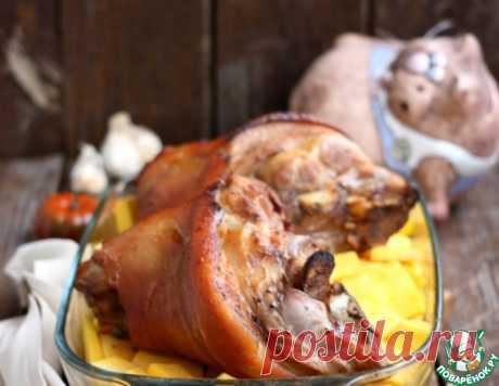 Свиная рулька в цитрусовом маринаде – кулинарный рецепт