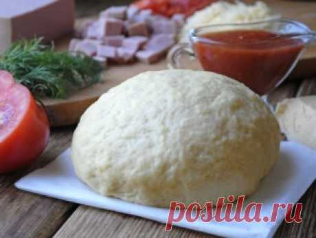 Soft pizza dough without yeast (+ pizza) — the recipe with a photo step by step. How to make soft bezdrozhzhevy pizza dough?