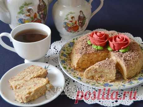 Торт из печенья и сгущенки — рецепт с фото Очень простой и быстрый торт без выпечки (из печенья). Всего 3 ингредиента: печенье, сливочное масло и вареная сгущенка.