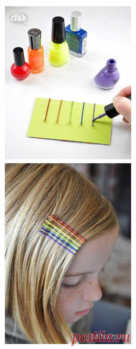 El arco iris sobre los cabellos \/ Adornamientos para los cabellos \/ la SEGUNDA CALLE