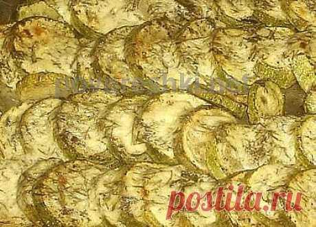 Кабачки запеченые в сметане - кулинарные рецепты Поваренка с поварешкой