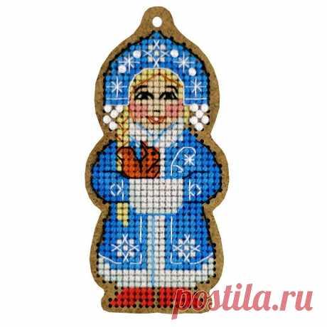 """Набор для вышивания «Дивная вишня» ВВ-111 «Снегурочка» купить в интернет-магазине «Мир Вышивки»  ВВ-111 """"Снегурочка"""""""