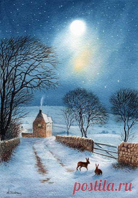 Зима, Рождество,Сказки