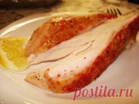 How to make the most juicy and tasty chicken breast. Simply and quickly!