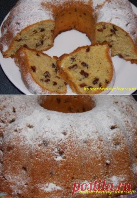 Кекс к чаю/Сайт с пошаговыми рецептами с фото для тех кто любит готовить