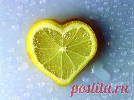 Полезные рецепты для сердца и сосудов из лимона | Я ЗДОРОВ!
