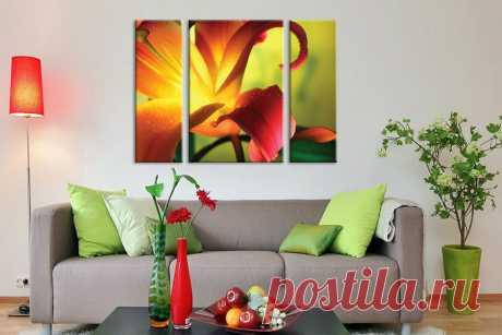 Картины и фотографии в дизайне интерьера.