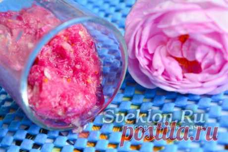 Варенье из розовых лепестков рецепт без варки