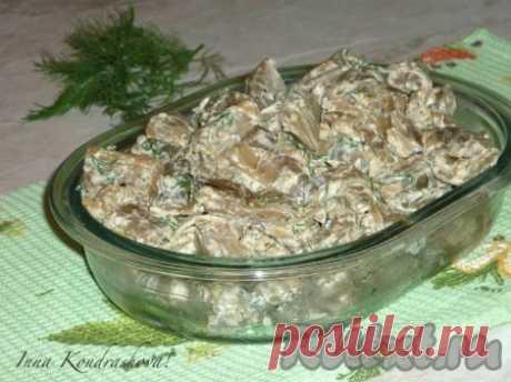 Рецепт баклажанов, жареных, как грибы