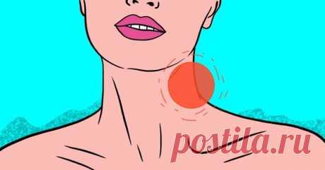 Почему воспаляются лимфоузлы на шее и что с этим делать
