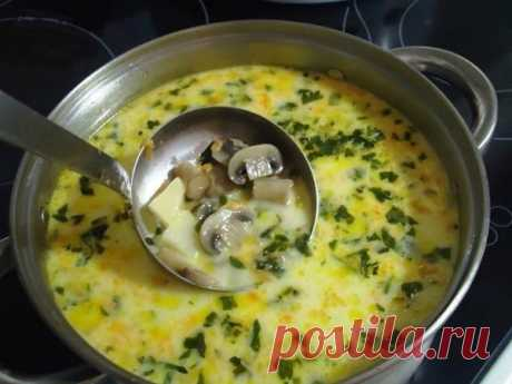 Найсмачніший грибний вершковий суп - Покроковий рецепт Поєднання вершків, плавленого сиру і грибів – так смачно, просто пальчики оближеш. Складові: печериці – 200 грам; картопля – 2 штуки; вершки (можна молоко) – 100 грам; морквина...