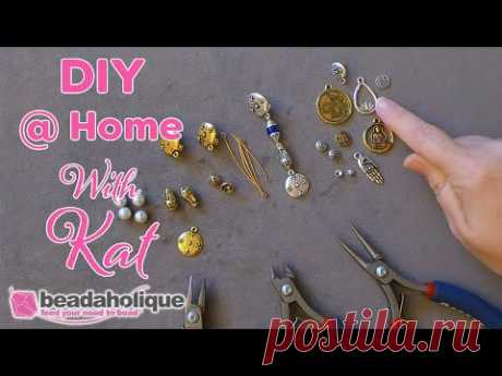 How to Use Clip on Earrings with Metal Beads and Charms