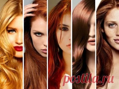 Как цвет волос влияет на характер и судьбу человека