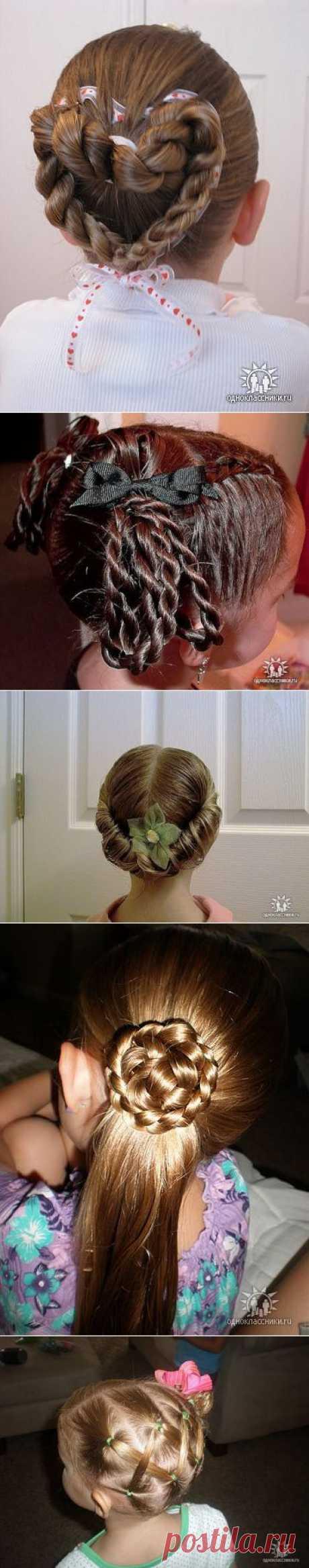 """""""Королевские"""" los peinados para las muchachas (las foto-instrucciones detalladas)."""