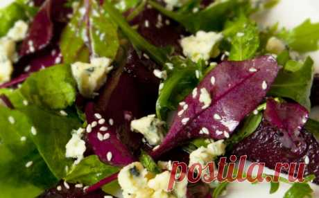 Салат из свеклы с авокадо — Sloosh – кулинарные рецепты