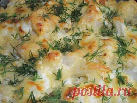 Цветная капуста с чесночным соусом (на любой прием пищи) - Еда и рецепты - 8593 - Tabor.ru Цветная капуста с чесночным соусом (на любой прием пищи)