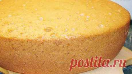 Magnificent, gentle, air biscuit on kefir - saitkulinarii.info