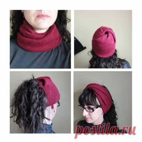 Снуд-шапка