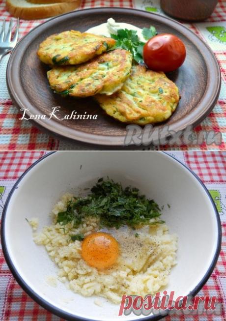 Оладьи из картофельного пюре - рецепт с фото