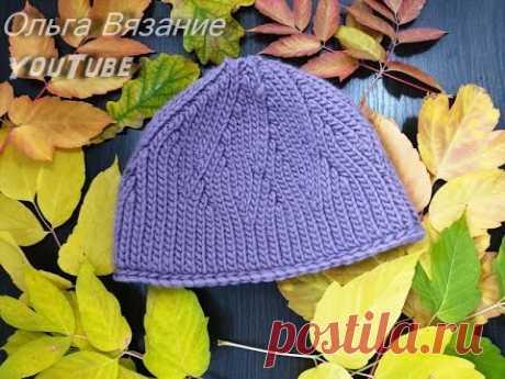 Вязание шапки крючком укороченными рядами