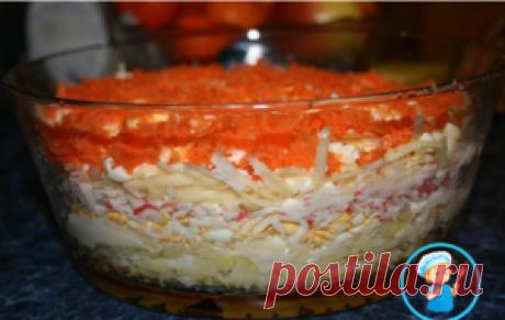 Салат Бархатный - Приготовим вкусно