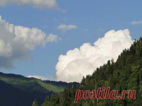 Небо и горы над о.Рицца