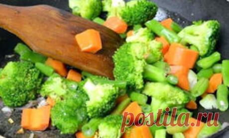 Берем пакет замороженных овощей и делаем вкуснейшую еду