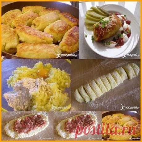 Как приготовить картофельные рулетики  - рецепт, ингридиенты и фотографии