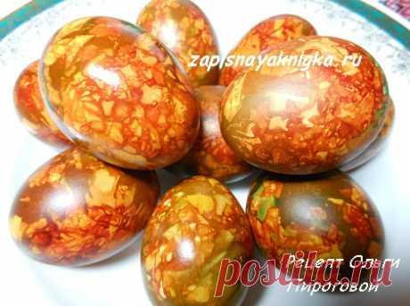 Мраморные яйца к Пасхе