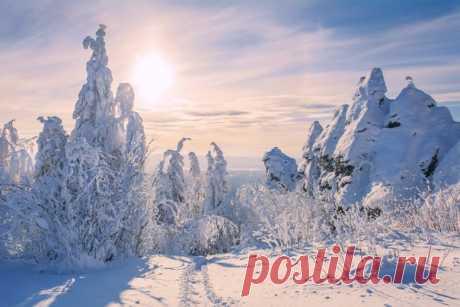 Гора Колпаки, Пермский край. Автор фото: Елена Соколова.