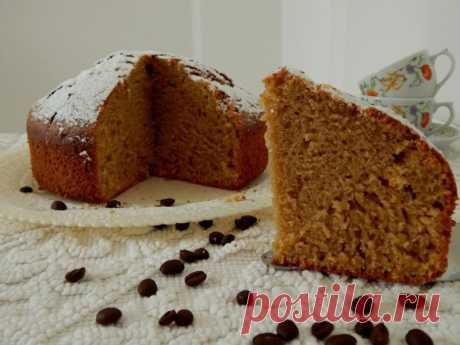Кофейный пирог — Sloosh – кулинарные рецепты