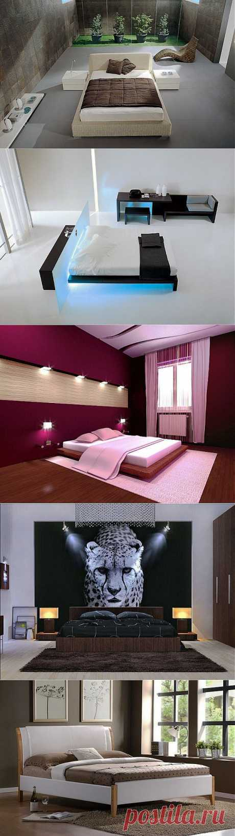 Душевный покой и комфорт: спальни в стиле минимализм    и Дизайн